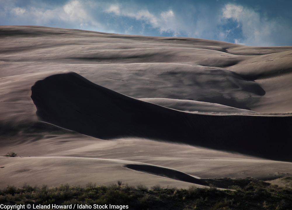 Idaho, east, St. Anthony Sand Dunes