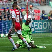 Amsterdam, 25-07-2013. Zo'n 20.000 fans waren naar de Amsterdam Arena gekomen voor de Open dag van Ajax. De spelers werden gepresenteerd  en trainden in de Arena. Foto: Sana en Kenneth Vermeer.