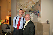 Bob Hoskins and Simon Gerard McDonald British Ambassador to Israel