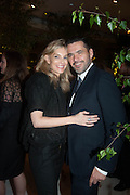 KIM HERSOV; ROLAND MOURET, The Cartier Chelsea Flower show dinner. Hurlingham club, London. 20 May 2013.