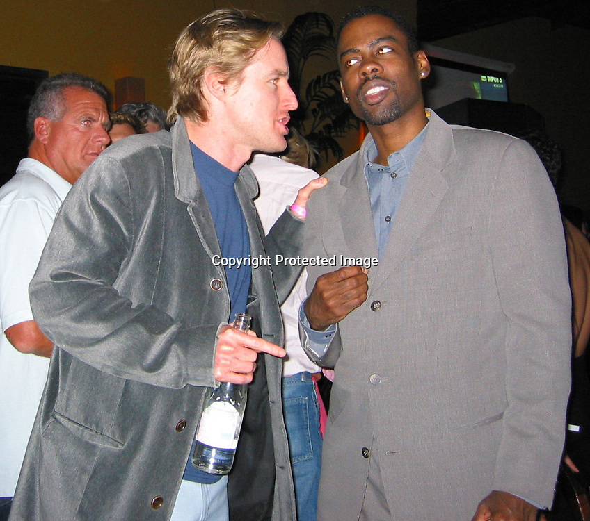 Owen Wilson &amp; Chris Rock<br />