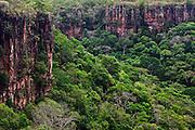 Chapada dos Guimaraes_MT, Brasil...Imagens do Parque Nacional da Chapada dos Guimaraes no Estado do Mato Grosso. Na foto Vale do Rio Coxipozinho...The Chapada dos Guimaraes National Park  is a national park in the Brazilian state of Mato Grosso. In this photo Vale do Rio Coxipozinho...Foto: JOAO MARCOS ROSA  /NITRO..