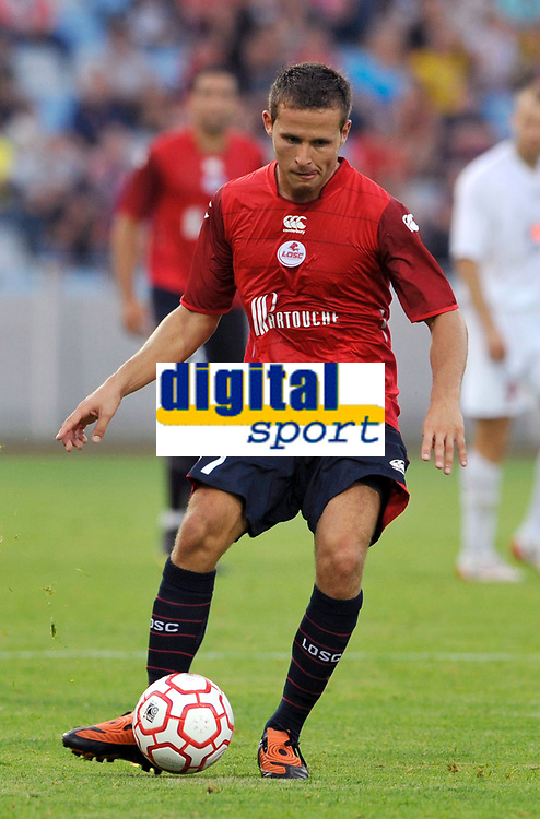 Fotball<br /> Frankrike<br /> Foto: DPPI/Digitalsport<br /> NORWAY ONLY<br /> <br /> FOOTBALL - EUROPA LEAGUE 2009/2010 - THIRD QUALIFYING ROUND - 2ND LEG - 6/08/2009 - LILLE OSC v FK SEVOJNO<br /> <br /> YOHAN CABAYE (LIL)
