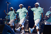 Junk Yard Band performs during the Summer Spirit Festival 2015 at Merriweather Post Pavilion in Columbia, MD on Saturday, August 8, 2015.