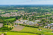 Nederland, Gelderland, Gemeente Berkelland, 29-05-2019; Achterhoek met overzicht dorp Ruurlo.<br /> Overview village Ruurlo.<br /> <br /> luchtfoto (toeslag op standard tarieven);<br /> aerial photo (additional fee required);<br /> copyright foto/photo Siebe Swart