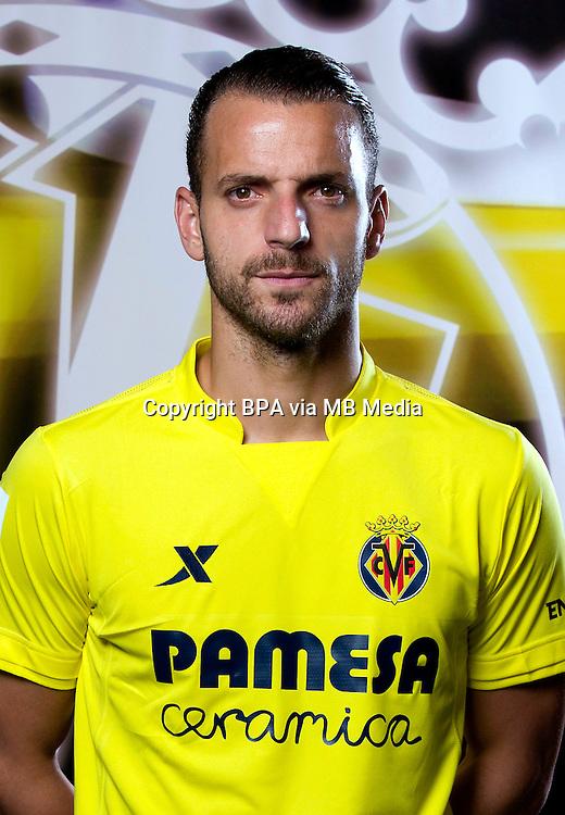 Spain - Liga BBVA 2015-2016 / <br /> ( Villarreal C.F. ) - <br /> Roberto Soldado Rillo