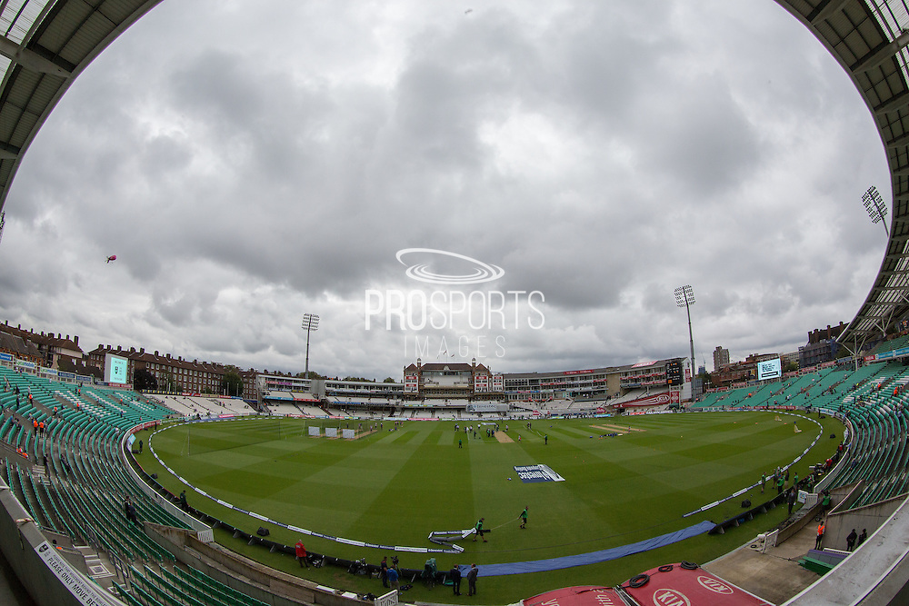 The Oval ground shot before the 1st day of the 5th Investec Ashes Test match between England and Australia at The Oval, London, United Kingdom on 20 August 2015. Photo by Phil Duncan.