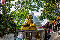 Gangaramaya Buddhist Temple,, Colombo, Sri Lanka.