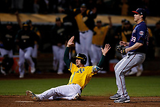 20180922 - Minnesota Twins at Oakland Athletics