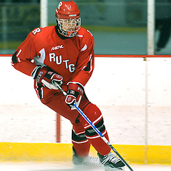 Dec 13, 2008 - Rutgers Scarlet Knights hockey defeat the Binghamton University Bearcats 12-0 at the Old Bridge arena in Old Bridge, N.J.