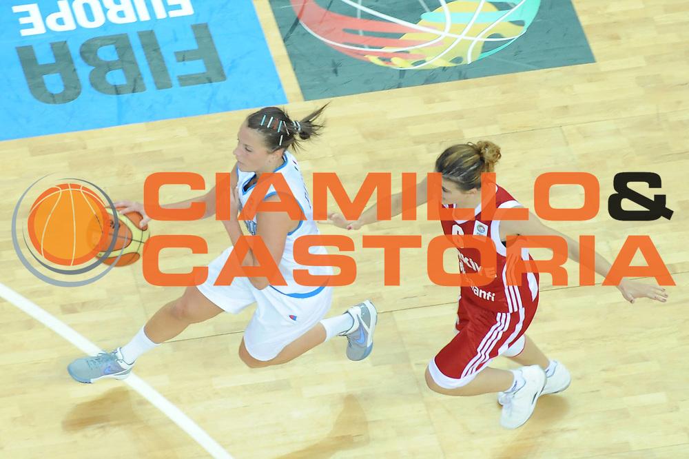 DESCRIZIONE : Riga Latvia Lettonia Eurobasket Women 2009 Qualifying Round Italia Turchia Italy Turkey<br /> GIOCATORE : Chiara Pastore<br /> SQUADRA : Italia Italy<br /> EVENTO : Eurobasket Women 2009 Campionati Europei Donne 2009 <br /> GARA : Italia Turchia Italy Turkey<br /> DATA : 12/06/2009 <br /> CATEGORIA : palleggio special<br /> SPORT : Pallacanestro <br /> AUTORE : Agenzia Ciamillo-Castoria/M.Marchi<br /> Galleria : Eurobasket Women 2009 <br /> Fotonotizia : Riga Latvia Lettonia Eurobasket Women 2009 Qualifying Round Italia Turchia Italy Turkey<br /> Predefinita :
