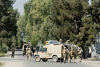 Helmand, 26 Sep. 2006. At around 9am a bomb exploded at the main entrance of the Governour compound in Lashkargah City. According to local sources the blast was caused by a suicide bomber, 18 people were killed and 20 injured.