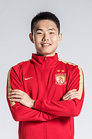 **EXCLUSIVE**Portrait of Chinese soccer player Wang Shangyuan of Guangzhou Evergrande Taobao F.C. for the 2018 Chinese Football Association Super League, in Guangzhou city, south China's Guangdong province, 8 February 2018.