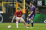 Anderlecht Midfielder Alexandru Chipciu during the UEFA Europa League Quarter-final, Game 1 match between Anderlecht and Manchester United at Constant Vanden Stock Stadium, Anderlecht, Belgium on 13 April 2017. Photo by Phil Duncan.