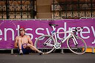 Vladimir Turbayevskiy RUS.Mens ITU Race.2011 Dextro Energy Triathlon ITU World Championship Sydney.Sydney, New South Wales, Australia..Hosted By USM Events.Proudly Supported By Asics, Dextro, Suunto, Events New South Wales, Subaru, USM Events..10/04/2011.Photo Lucas Wroe