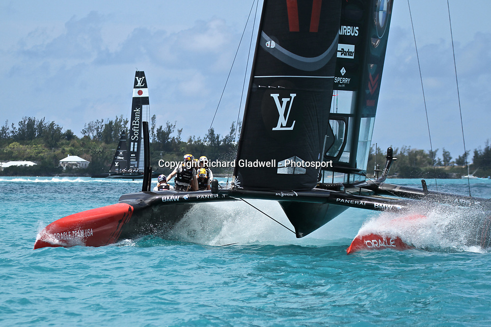 Race 8 - Oracle Team USA prestart - 35th America's Cup - Bermuda  May 27, 2017 . Copyright Image: Richard Gladwell / Sail World / www.photosport.nz