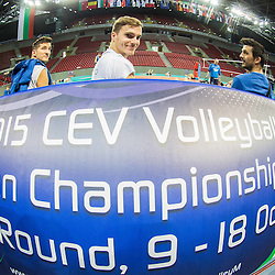 20151017: BUL, Volleyball - 2015 CEV Volleyball European Championship Men, Team Slovenia