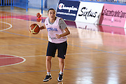Cervia  01/12/2009<br /> Allenamenti Nazionale Italiana Femminile Sperimentale<br /> Foto Ciamillo<br /> giulia gatti