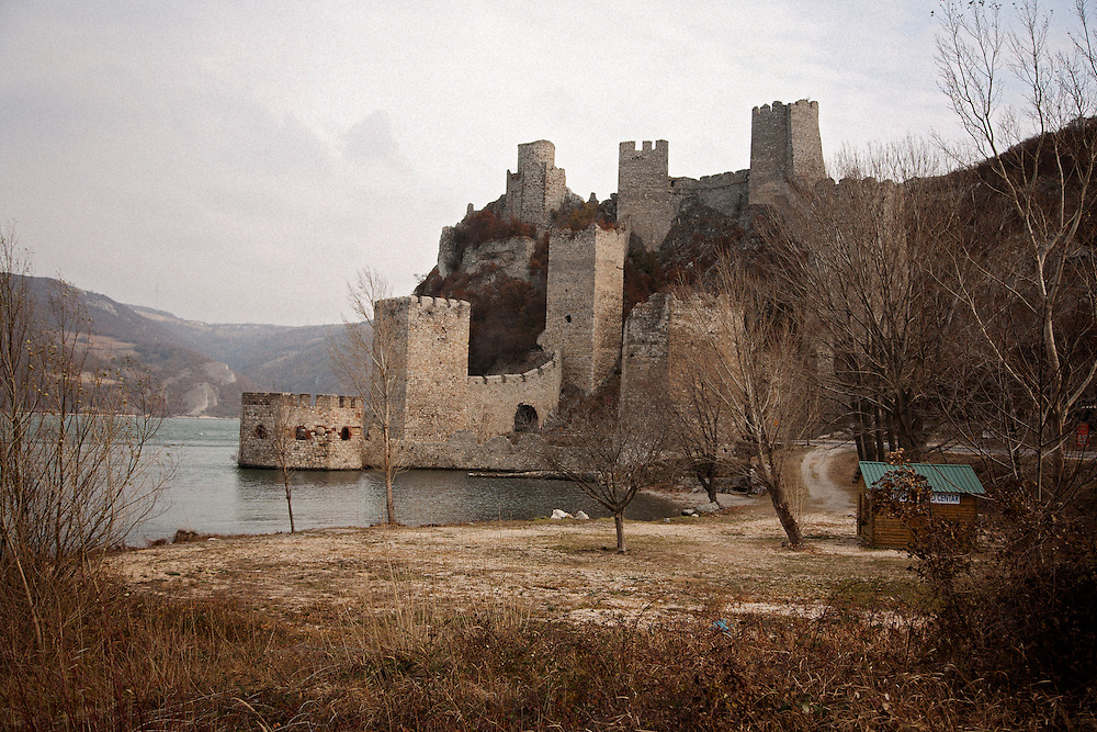 The Golubac Fortress on the Danube River near the town of Golubac, Serbia..Matt Lutton for the Financial Times