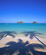 Lanikai Beach, Kailua, Oahu, Hawaii, USA<br />