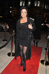 NANCY DELL'OLIO at the opening of the new St.James Theatre, 12 Palace Street, London SW1 on 13th September 2012.