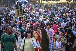 Movimento de público na 38ª Expointer, que ocorrerá entre 29 de agosto e 06 de setembro de 2015 no Parque de Exposições Assis Brasil, em Esteio. FOTO: André Feltes/ Agência Preview