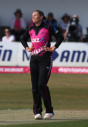 July 1, 2018 - London, Greater London, United Kingdom - Lea Tahuhu of New Zealand Women  .during International Twenty20 Final match between England Women and New Zealand Women  at The Cloudfm County Ground, Chelmsford, England on 01 July 2018. (Credit Image: © Kieran Galvin/NurPhoto via ZUMA Press)