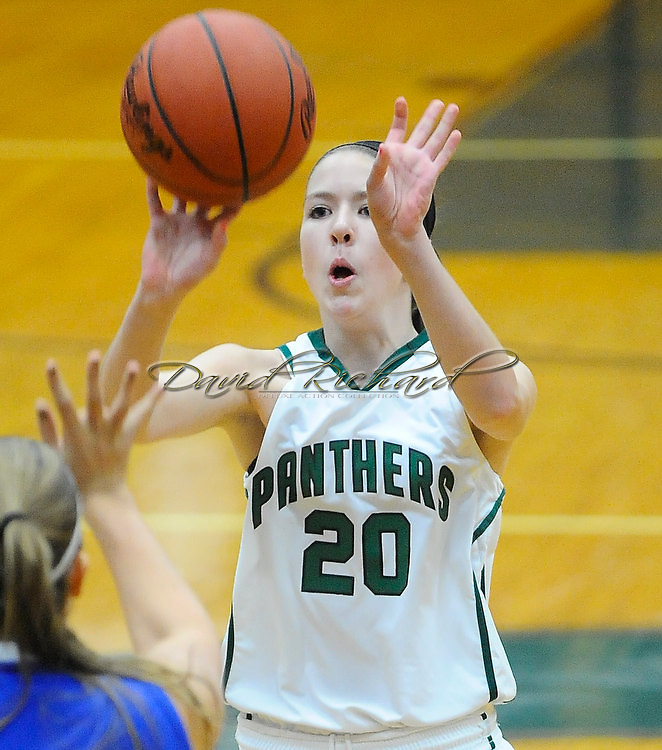 The Elyria Catholic girls varsity basketball team defeated Trinity on January 22, 2011 at  Elyria Catholic High School.