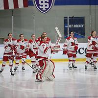 Women's Ice Hockey: Adrian College Bulldogs vs. Plattsburgh State University of New York Cardinals