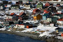 NORWAY HAMMERFEST 23MAR07 - General view of Tjuven near Hammerfest, the world's most northerly town...jre/Photo by Jiri Rezac..© Jiri Rezac 2007..Contact: +44 (0) 7050 110 417.Mobile:  +44 (0) 7801 337 683.Office:  +44 (0) 20 8968 9635..Email:   jiri@jirirezac.com.Web:    www.jirirezac.com..© All images Jiri Rezac 2007 - All rights reserved.