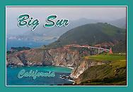Monterey, California souvenir magnets, Big Sur