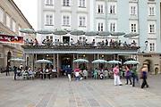 Churfürststrasse / Alter Markt. Cafe Tomaselli, Salzburg
