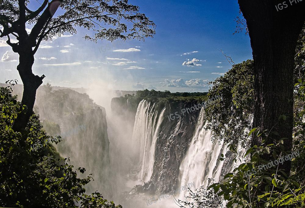 Victoria falls, Mosi-oa-Tunya national park, zambia