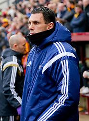 Sunderland Manager, Gus Poyet - Photo mandatory by-line: Matt McNulty/JMP - Mobile: 07966 386802 - 15/02/2015 - SPORT - Football - Bradford - Valley Parade - Bradford City v Sunderland - FA Cup - Fifth Round