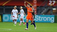 Football - 2017 UEFA Women's European [Euro] Championship - Group A : Netherlands vs. Denmark<br /> <br /> Sherida Spitse of The Netherlands celebrates scoring at Sparta Stadoin , Rotterdam.<br /> <br /> COLORSPORT/LYNNE CAMERON