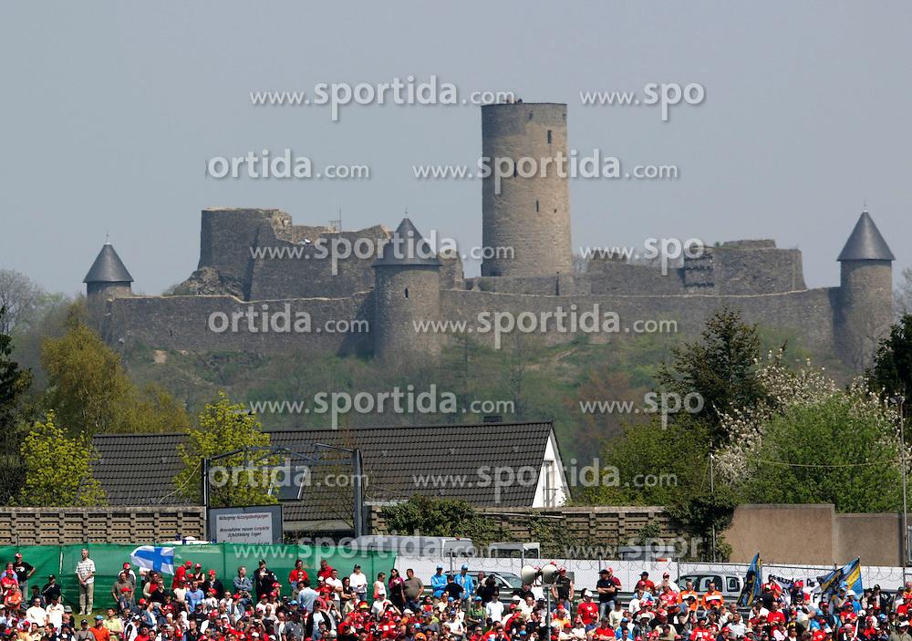 FORMEL 1: GP von Europa, Nuerburgring, 07.05.2006<br /> Rennstrecke, Illustration, Nuerburg, Burg, Stadtansicht<br /> &Atilde;'&Acirc;&not;&Atilde;'&Acirc;&copy; pixathlon