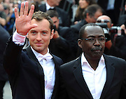 Jude Law arrives on the red carpet for the premiere of Pirates Of The Caribbean: On Stranger Tides  at the Festival Des Palais  during the 64th Cannes Film Festival in Cannes, France sat may 14May 2011.