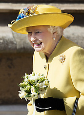 Queen Elizabeth Easter