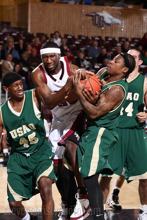 Southern Nazarene Men's BBall vs USAO.SAC Tournament, Quarterfinals.March 6, 2008