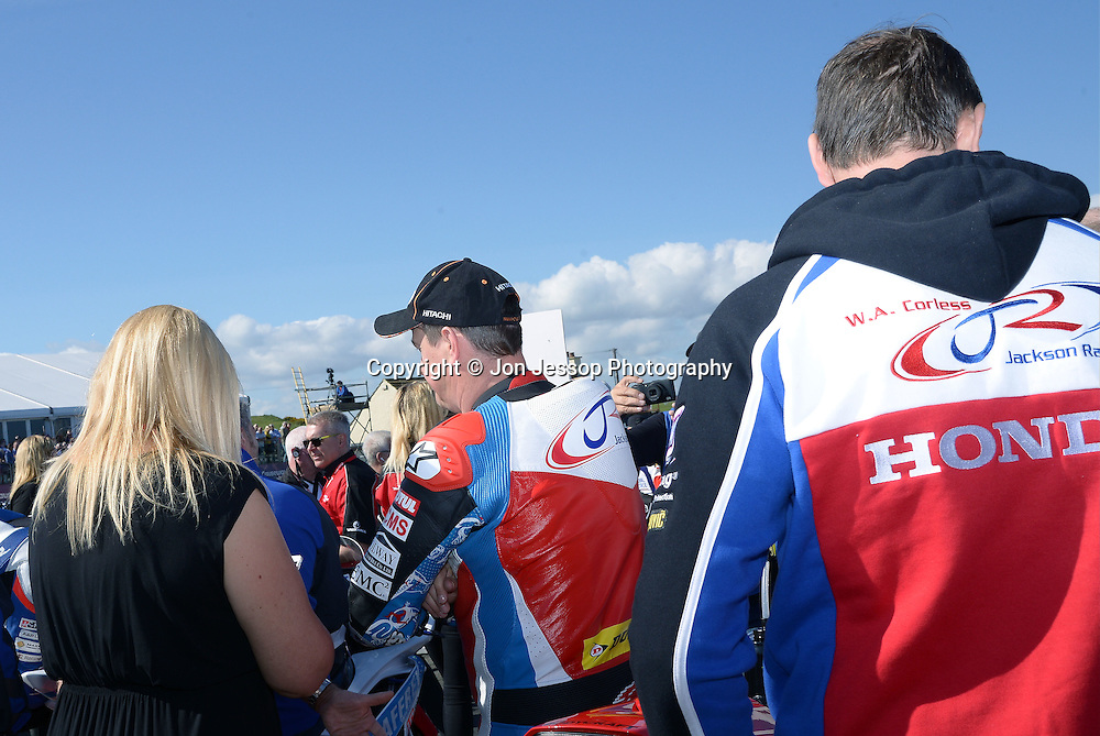 #1 John McGuinness Morecambe Jackson Honda Racing Honda