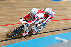 POLAK Marcin Pilot: LADOSZ Michal, POL, Pursuit Finals , 2015 UCI Para-Cycling Track World Championships, Apeldoorn, Netherlands