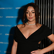 Lois Bowden attend Awareness gala hosted by the Health Committee with live music and poetry performances at City Hall at The Queen's Walk, London, UK. 18 March 2019.