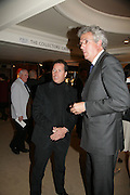 Viscount Linley and Henry Wyndham, Private Preview of the Grosvenor House Art and Antiques Fair. 13 June 2007.  -DO NOT ARCHIVE-© Copyright Photograph by Dafydd Jones. 248 Clapham Rd. London SW9 0PZ. Tel 0207 820 0771. www.dafjones.com.
