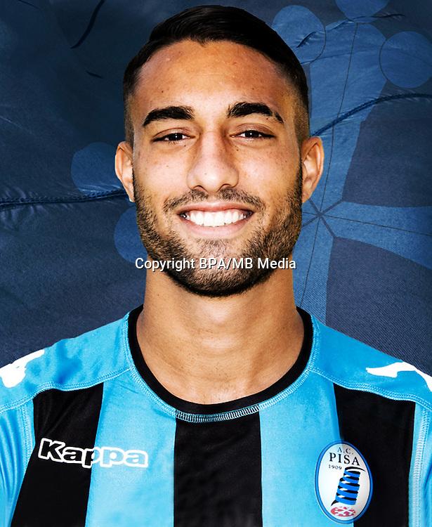 Italian League Serie B -2016-2017 / <br /> ( A.C. Pisa 1909 ) - <br /> Luca Crescenzi