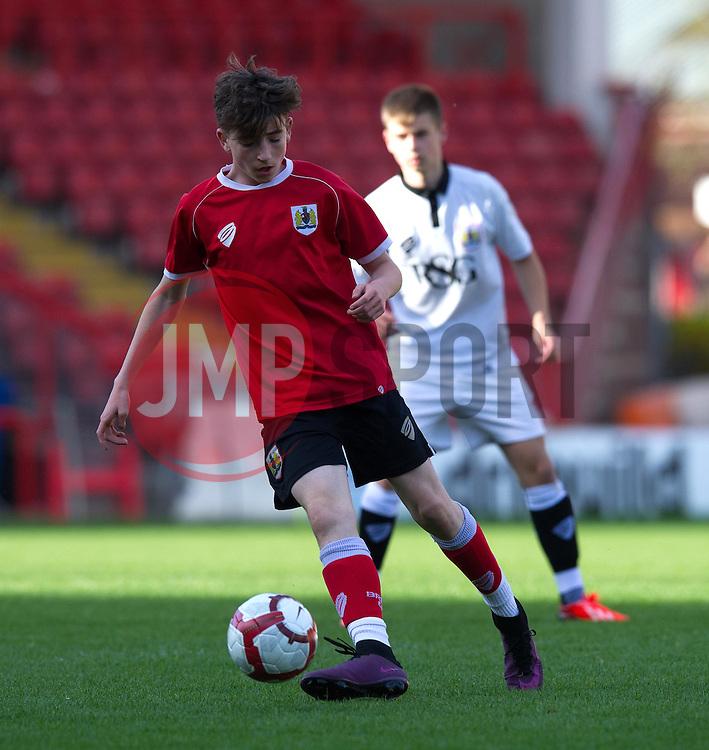 Players from Bristol City Academy play at Ashton Gate - Photo mandatory by-line: Paul Knight/JMP - Mobile: 07966 386802 - 11/05/2015 - SPORT - Football - Bristol - Ashton Gate Stadium - Bristol City Academy