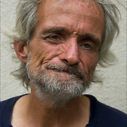 Head and shoulders portrait of Anthony, one of Atlantic City's  invisible homeless people.<br /> <br /> release #2572