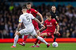 Jamie Paterson of Bristol City takes on Ben White of Leeds United - Mandatory by-line: Daniel Chesterton/JMP - 15/02/2020 - FOOTBALL - Elland Road - Leeds, England - Leeds United v Bristol City - Sky Bet Championship