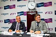 Contractondertekening FEI en Longines<br /> FEI European Championships Gothenburg 2017<br /> © DigiShots