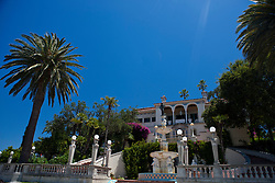 Exterior of Casa del Sol guesthouse, Hearst Castle, California, United States of America