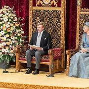 NLD/Den Haag/20170919 - Prinsjesdag 2017, Koning Willem Alexander en Koningin Maxima